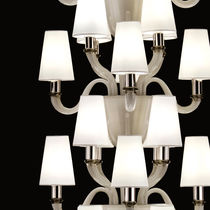 Original design chandelier / blown glass / Murano glass / LED