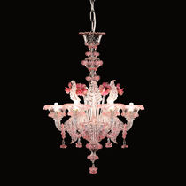 Classic chandelier / blown glass / Murano glass / LED