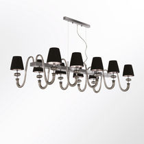 Pendant lamp / contemporary / Murano glass / LED