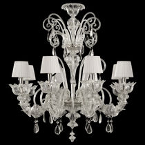 Traditional chandelier / Murano glass / handmade / custom