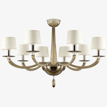 Traditional chandelier / blown glass / Murano glass / handmade