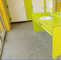 Double vanity top / laminate / commercial