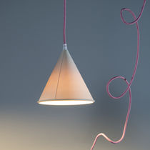 Pendant lamp / contemporary / LED / white