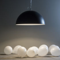 Pendant lamp / contemporary / steel / in Nebulite®