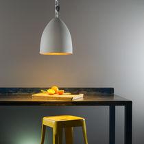 Pendant lamp / contemporary / fiberglass / in Nebulite®