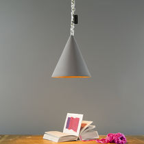 Pendant lamp / contemporary / fiberglass / in Nebulite®