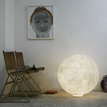 Floor lamp / contemporary / in Nebulite® / LED