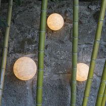 Contemporary wall light / outdoor / fiberglass / resin