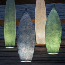 Floor lamp / contemporary / steel / Laprene®