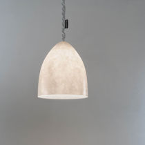 Pendant lamp / contemporary / Laprene® / in Nebulite®