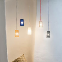 Pendant lamp / contemporary / Laprene® / LED