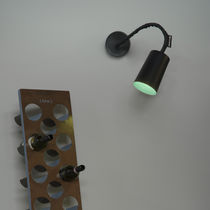 Contemporary wall light / Laprene® / in Nebulite® / LED