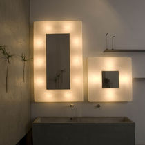 Contemporary wall light / steel / in Nebulite® / LED