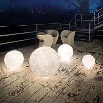 Floor lamp / contemporary / in Nebulite® / outdoor