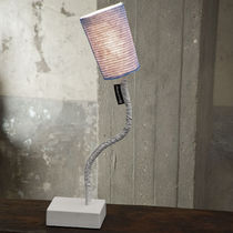 Table lamp / contemporary / cast iron / steel