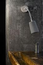 Contemporary wall light / wool / steel / nylon