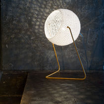Table lamp / contemporary / steel / resin