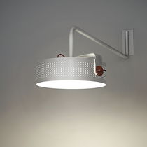Contemporary wall light / lacquered aluminum / COR-TEN® steel / LED