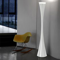 Floor-standing lamp / original design / resin