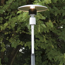 Garden lamp post / contemporary / steel / LED