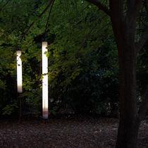 Pendant lamp / contemporary / aluminum / garden