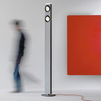 Floor-standing lamp / contemporary / aluminum / adjustable