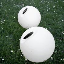 Floor lamp / contemporary / polyethylene / for outdoor use