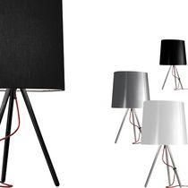Table lamp / original design / fabric