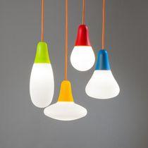 Pendant lamp / contemporary / polyethylene / outdoor