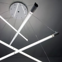 Pendant lamp / original design / polycarbonate / fluorescent