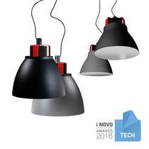 Pendant lamp / contemporary / lacquered aluminum / LED