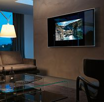 Wall-mounted mirror / TV / contemporary / rectangular