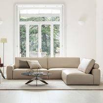 Modular sofa / contemporary / animal skin / fabric