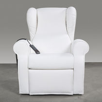 Polyurethane medical chair / reclining / electric / white