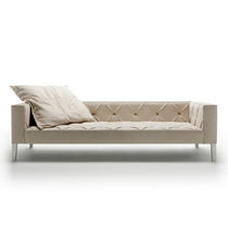 Contemporary sofa / leather / 4-seater / 3-seater