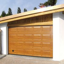 Sectional garage doors / wooden / steel / automatic