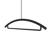 Hanging valet stand / contemporary / metal