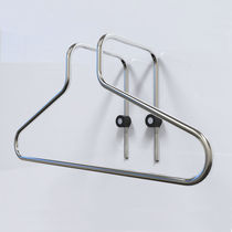 Wall-mounted valet stand / contemporary / metal