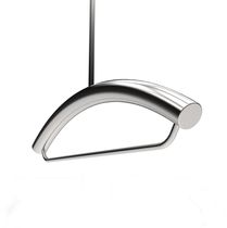 Hanging valet stand / contemporary / stainless steel