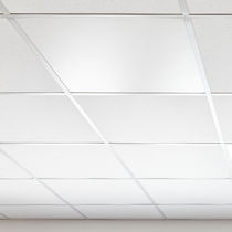 Metal suspended ceiling / panel / radiant