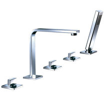5 hole bath-tub double handle mixer tap VESUVE - V305  ottofond