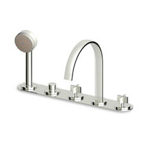5 hole bath-tub double handle mixer tap ISY - ZD5447 ZUCCHETTI RUBINETTERIA