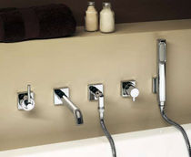 5 hole bath-tub single handle mixer tap BRI1043L Neve rubinetterie