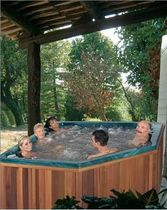 5 seater portable hot-tub ALCOR SOMETHY