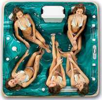 5 seater portable hot-tub CONCORD Thermo Spas