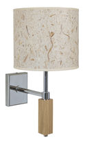 Contemporary wall light / fabric