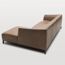 Contemporary sofa / leather / by Christian Werner
