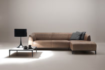 Modular sofa / contemporary / leather / by Christian Werner