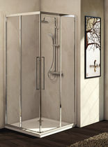 Sliding shower screen / angle / glass