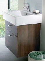 Wall-hung washbasin cabinet / free-standing / MDF / contemporary